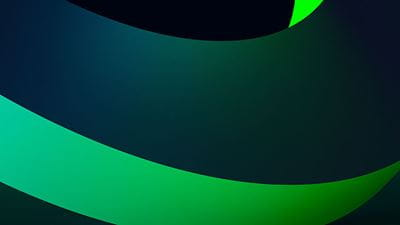 Abstract 3d rendering of a green geometric background 640x360