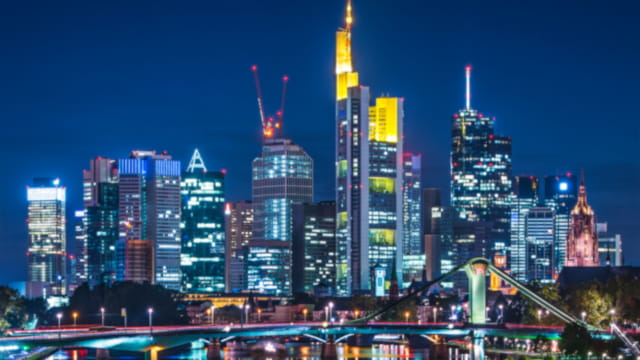 Frankfurt city view