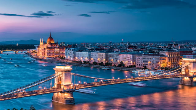 Hungary city view