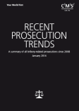 Recent prosecution trends