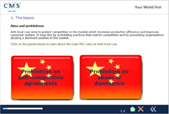 China eLearning anti-trust course example