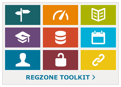 Regzone toolkit button