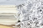 Shredded documents image